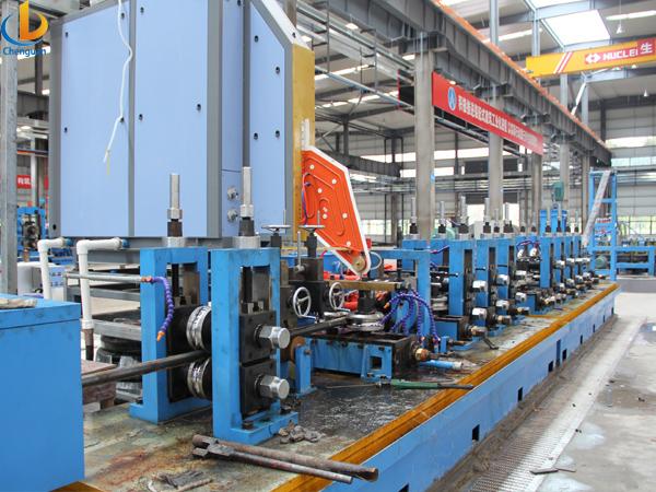 ERW 114 Tube Pipe Mill Machine-6