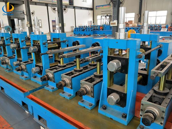 ERW 114 Tube Pipe Mill Machine-7