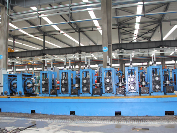 ERW 127 Tube Pipe Mill Machine-7