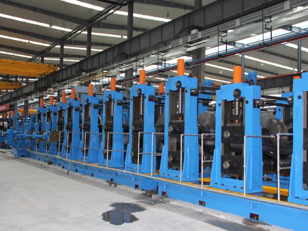 ERW 219 Tube Pipe Mill Machine-6