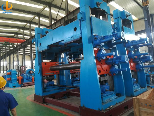 ERW 508 Tube Pipe Mill Machine-2