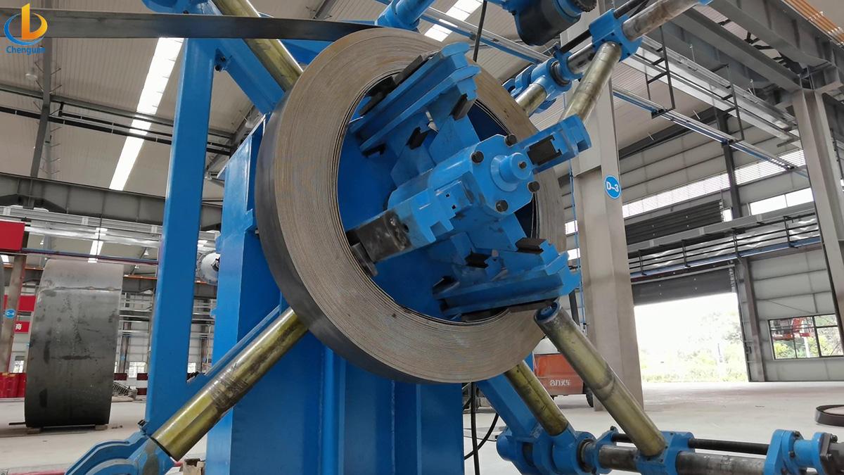 Pipe Mill uncoiler