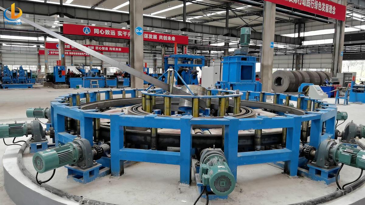 pipe mill acuumulator