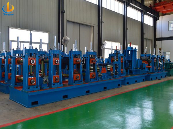 ERW 165 Tube Pipe Mill Machine