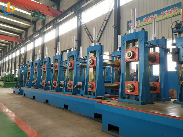 ERW 219 Tube Pipe Mill Machine-7